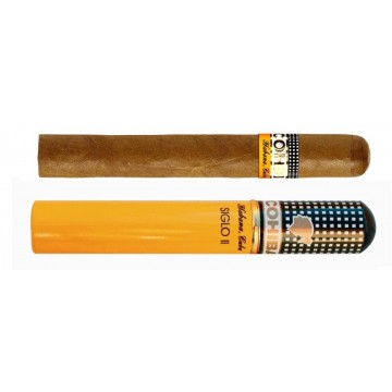 Cohiba Siglo II Tubos (15 cigars packs of 3)